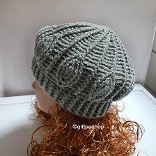 Crochet Beret Pattern Magnificent Slouchy Beanie Crochet Beanie Pattern Easy Crochet Hat N48 Gifts