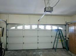 low clearance garage door um size of doors ideas zero headroom garage door opener quick turn