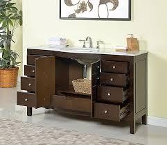 60 inch double sink bathroom vanity. incredible single sink bathroom vanities silkroad 60 inch inches double vanity