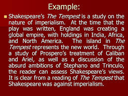 writing an introduction english the tempest essay ppt example shakespeare s the tempest is a study on the nature of imperialism