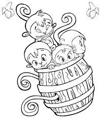 Printable Monkey Coloring Pages Framesforeverinfo