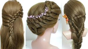 Long Hairstyle Easy Hairstyles For Long Hair Tutorial Quick And