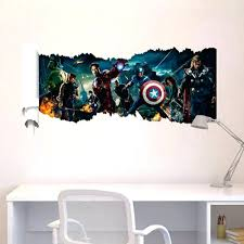 superhero wall decals for kids rooms compare prices on superhero wall  decals for kids online shopping