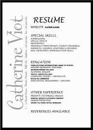 makeup artist resume sle for a resume sle of your resume 14