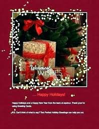 Free Holiday Photo Greeting Cards Business Holiday Greeting Card Business Holiday Greeting