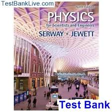 How to find the test bank for Physics for Scientists and Engineers ...