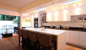 ... Light Up Your Kitchen With Led Lights Smart Ideas Homes Design For  Alluring ...