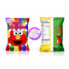 Design Your Own Potato Chip Bag 12 Custom Chip Bags Chips Included His N Her Favors