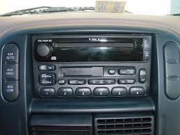 ford explorer factory radio