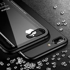 Toughened Glass Super Light Floveme Tempered Glass Phone Case For Iphone 7 X Xs 0 7mm Protective Mobile Phone Cover Cases For Iphone 7 8 Plus 6 6s Xs Max Xr