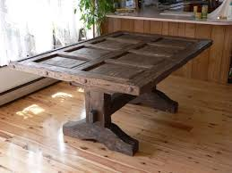 Distressed Wood Kitchen Table Cool Dining Tables Dining Room
