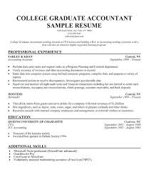 Accounting Students Resume 21 Basic Resumes Exles For