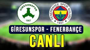 Giresunspor - Fenerbahçe D Smart GO - Spor Smart, Justin TV, Selçuksports  şifresiz izle