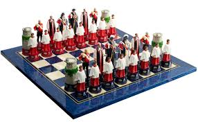 HM The Queen's Diamond Jubilee Chess Set is specially designed and ...