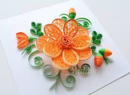 enjoyable inspiration paper quilling wall art quilled flower 3d zoom designs