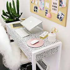 home office decorating ideas nyc. Lovely Office Decor Ideas : Elegant 10303 Kate Spade New York Inspired Fice For The Hbic Home Decorating Nyc E