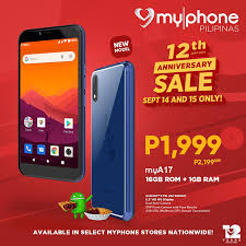 My Phone Myphone Releases Mya17 With 1gb Ram Priced Php 1 999 For A