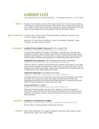 Media Resume Examples Strategic Communication Social Media Retail Merchandising Resume 47
