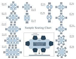 dining table guide size shape seating