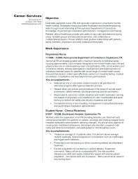 Example Of Nursing Resume Nursing Student Resume Examples Nursing