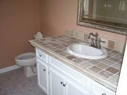 bathroom countertop tile ideas. I Like The Tile Countertop. Bathroom Countertop Ideas Pinterest