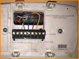 honeywell heat pump thermostat wiri wiring diagram Basic Heat Pump Wiring Diagram goodman heat pump thermostat wiring diagram honeywell thermostat heat pump wiring how to wire a honeywell thermostat with 6 wires 2 wire heat only