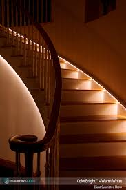 Staircase led lighting Wall Led Stairway And Walkway Lighting Fopexclub Led Walkway And Stairway Lighting shop By Project