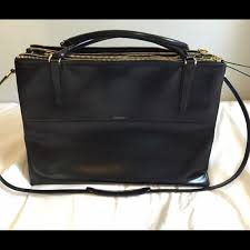 Coach large Borough Bag Black 28156