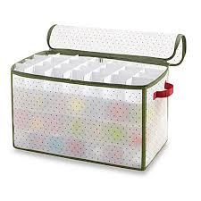 Best Christmas Ornament Storage Box  A Very Cozy HomeChristmas Ornament Storage
