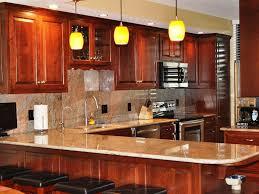 Cherry Kitchen Contemporary Cherry Kitchen Cabinets Kitchen Bath Ideas