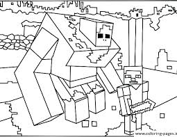 minecraft herobrine coloring pages printable just logo page animal free books also packed with sword