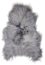 arctic icelandic sheepskin rug 2 x3 contemporary novelty rugs by fibre by auskin