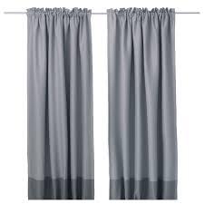 marjun blackout curtains 1 pair gray length 98 width 57