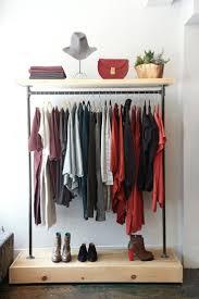 Portable Closet Rod Bedroom Furniture Clothes Rack Walmart Clothes Rod Clothing
