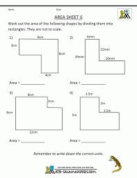 Area Worksheets Math Perimeter Free Printable ~ Koogra