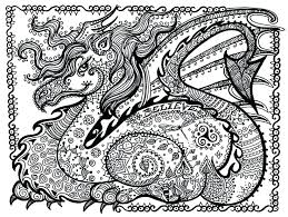 Dragon Art Coloring Pages Coloring For Babies Amvame