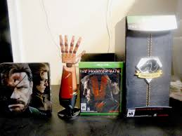 Metal Gear Solid V The Phantom Pain Collector S Edition Unboxing