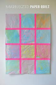 Marbleizing with Kids – DIY Marbleized Paper Quilt – Outdoor ... & Post image for DIY: marbleized paper quilt Adamdwight.com