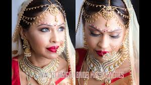 mac makeup how to bengali bridal tutorial south asian bridal makeup