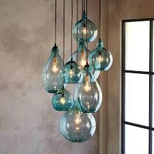 full image for hand n glass pendant light shades n glass lighting fixtures hand n glass
