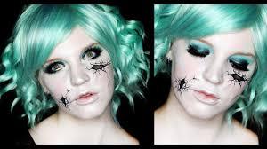 broken doll makeup tutorial ed face 31 days of you