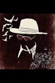 best hunter s thompson images hunter s  ben hood aka the creative panic is currently knee deep in a one illustration a day project passing 100 illustrations and going strong he is aiming for