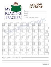 Book Reading Chart Reading Chart For Boys Pdf File Printable
