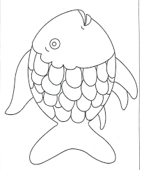 Rainbow Fish Coloring Page Rainbow Fish Preschool Templates ...
