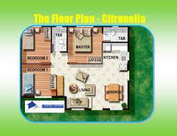 bungalow house plan design philippines