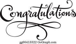 Word For Congratulations Congratulations Word Clip Art Royalty Free Gograph