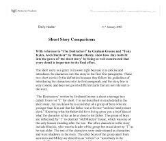 effective essay tips about the destructors essay the destructors essay cyber essays