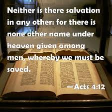 Image result for images for Acts 4:12
