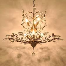 crystal chandelier lamp living room 7 lights antique crystal chandelier lamp in black antique brass painting