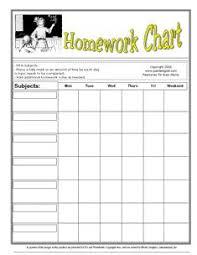 Homework Chart For Parents Homework Checklist For Parents Essay For You